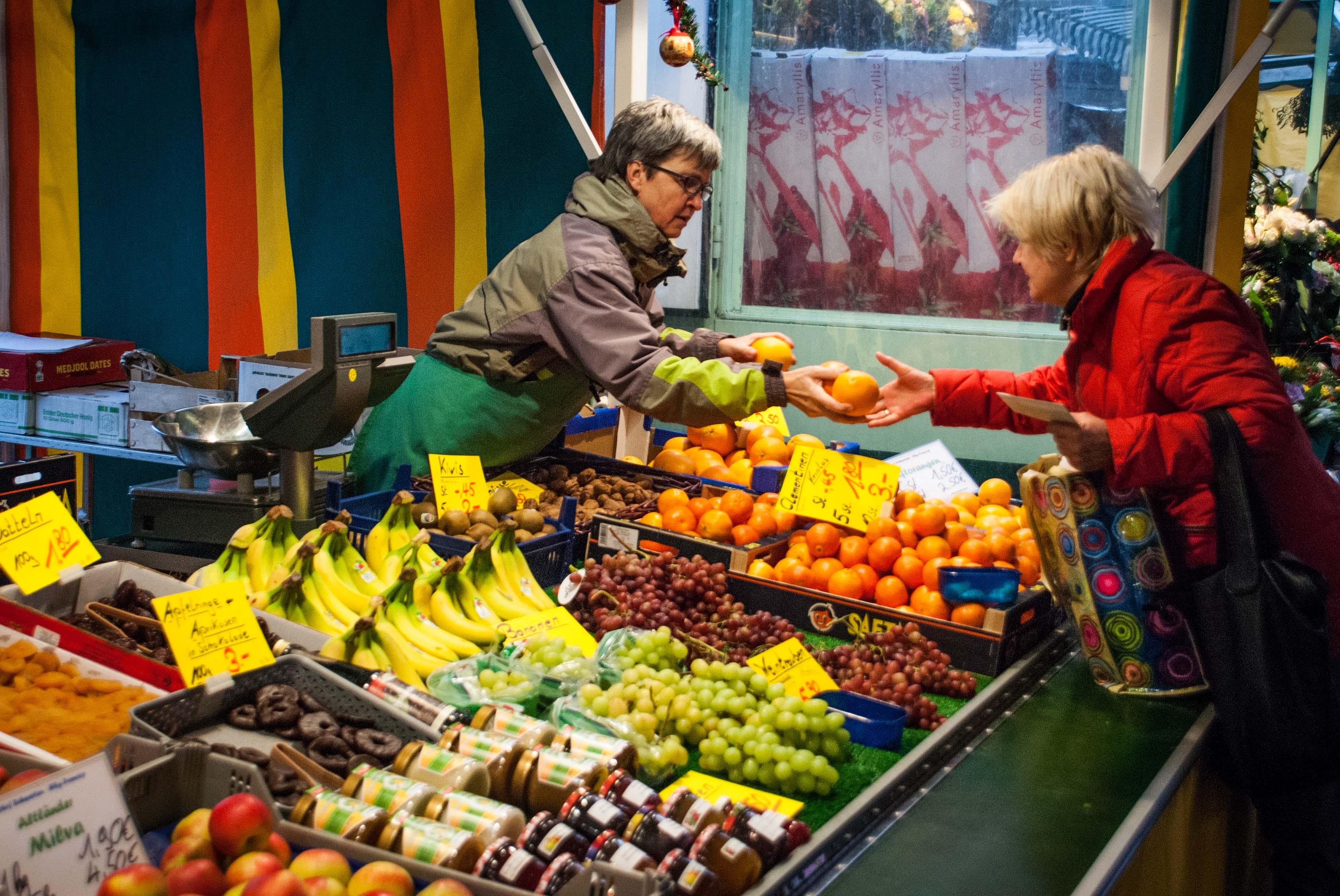 Frisches Obst auch im Winter