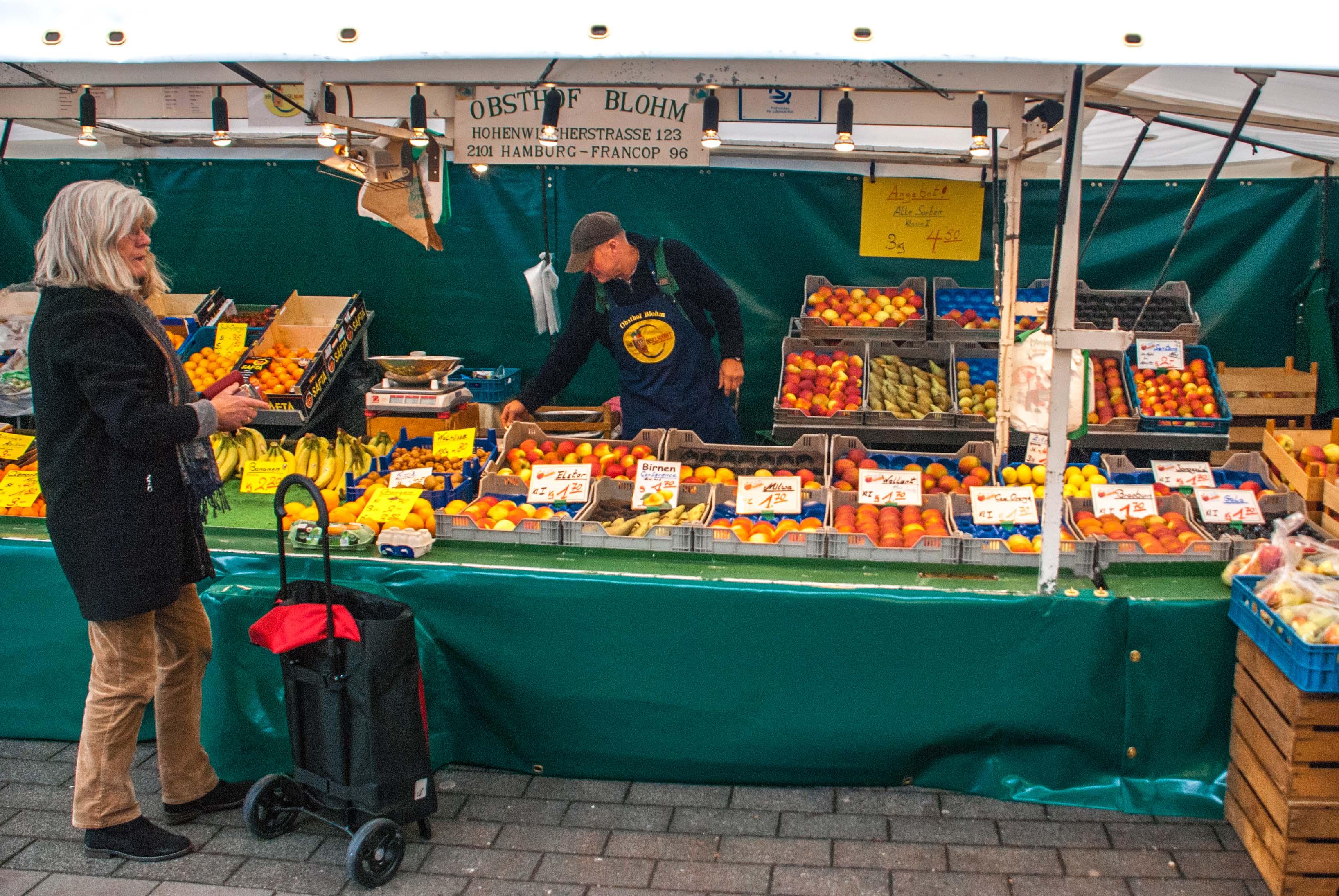 Wochenmarkt Wilhelmsburg